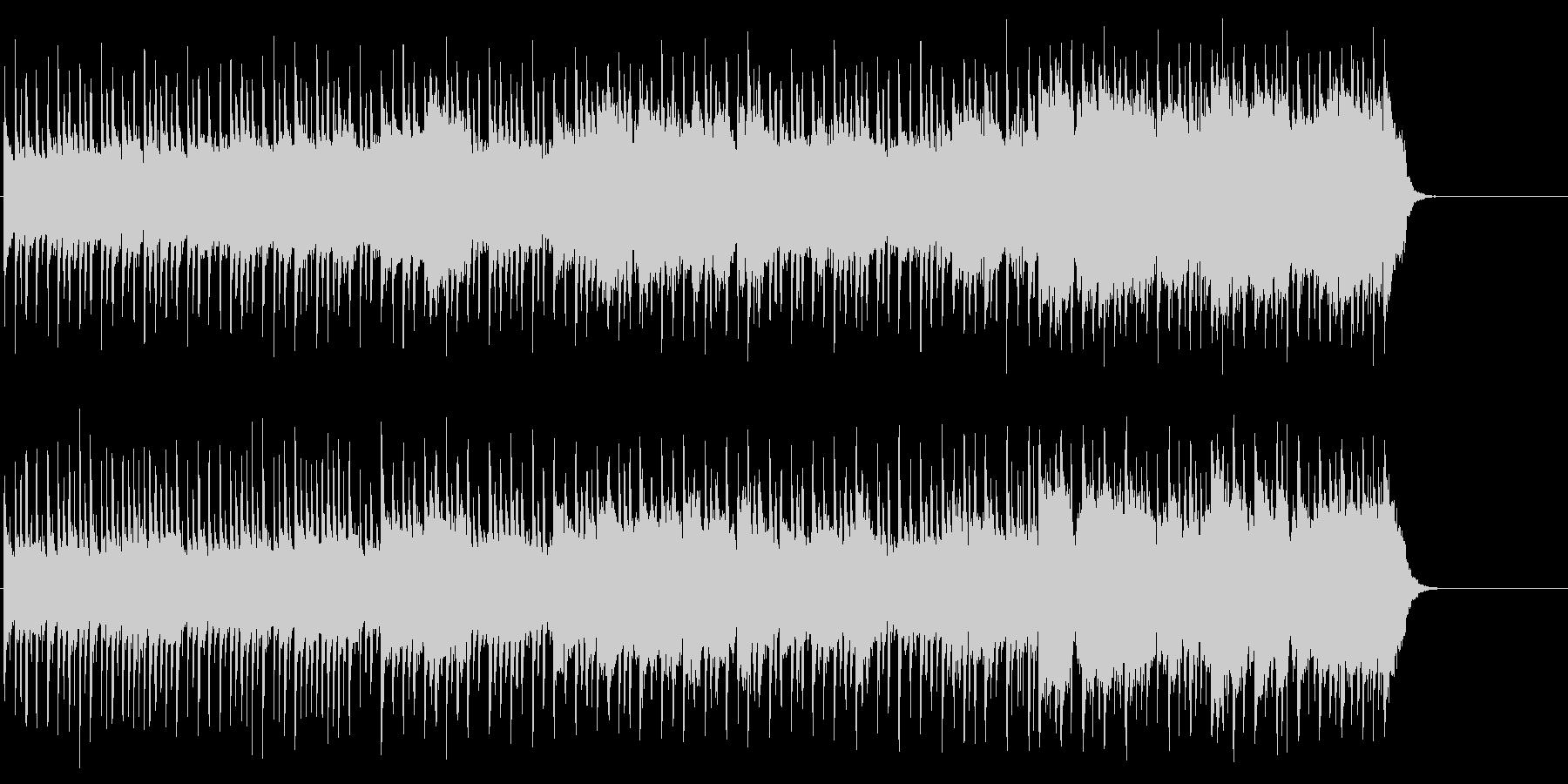 背中に哀愁漂うポップ(イントロ~A~…)の未再生の波形