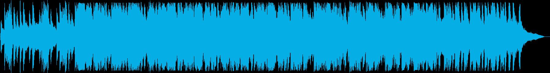 安らぐピアノ・バイオリンサウンドの再生済みの波形