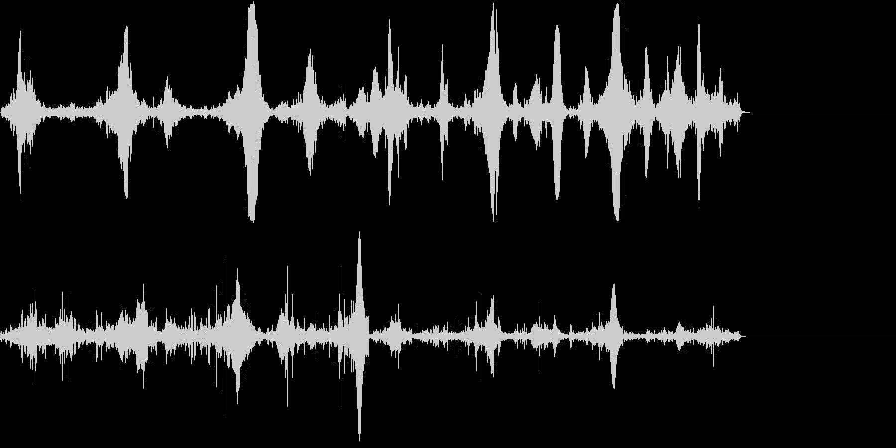 【SE 効果音】不気味な音6の未再生の波形