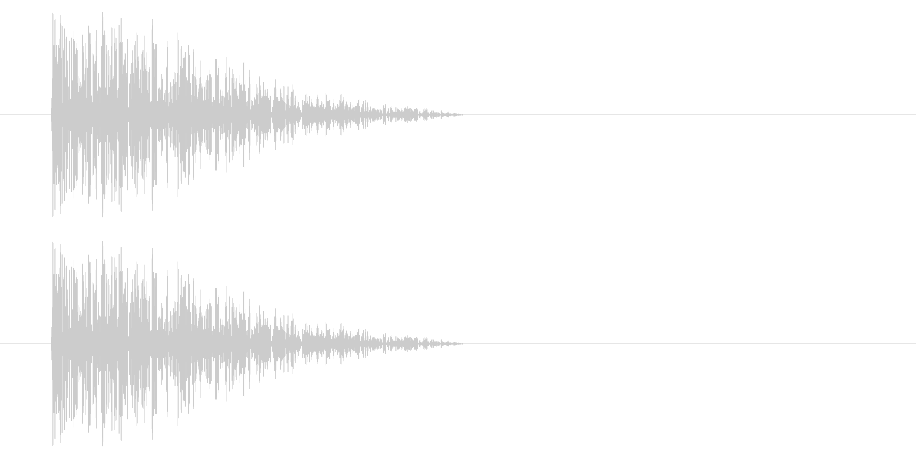 アーケード アクション01-7(爆発) の未再生の波形