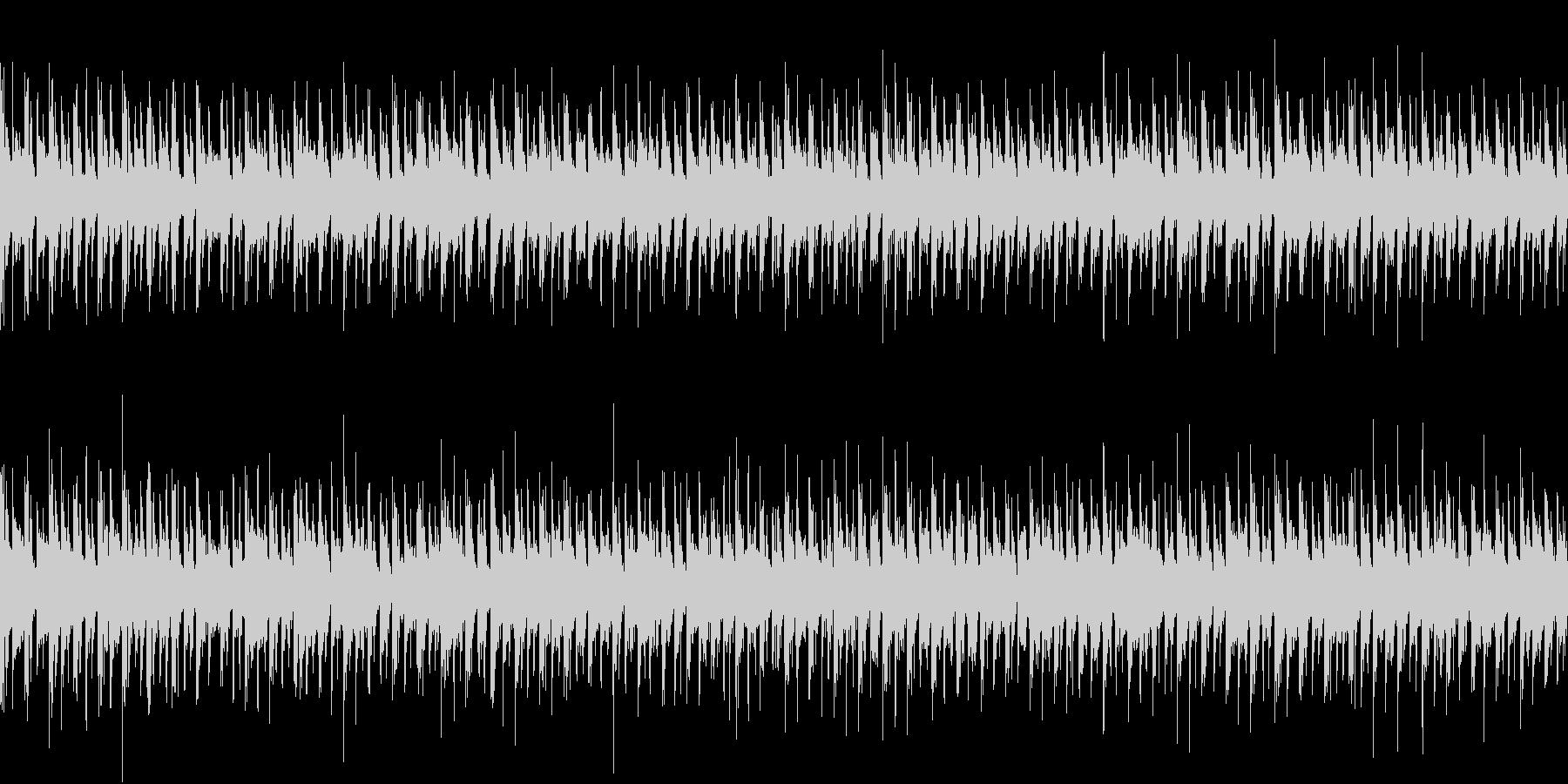 ダンジョン5 RPG ゲーム ループの未再生の波形