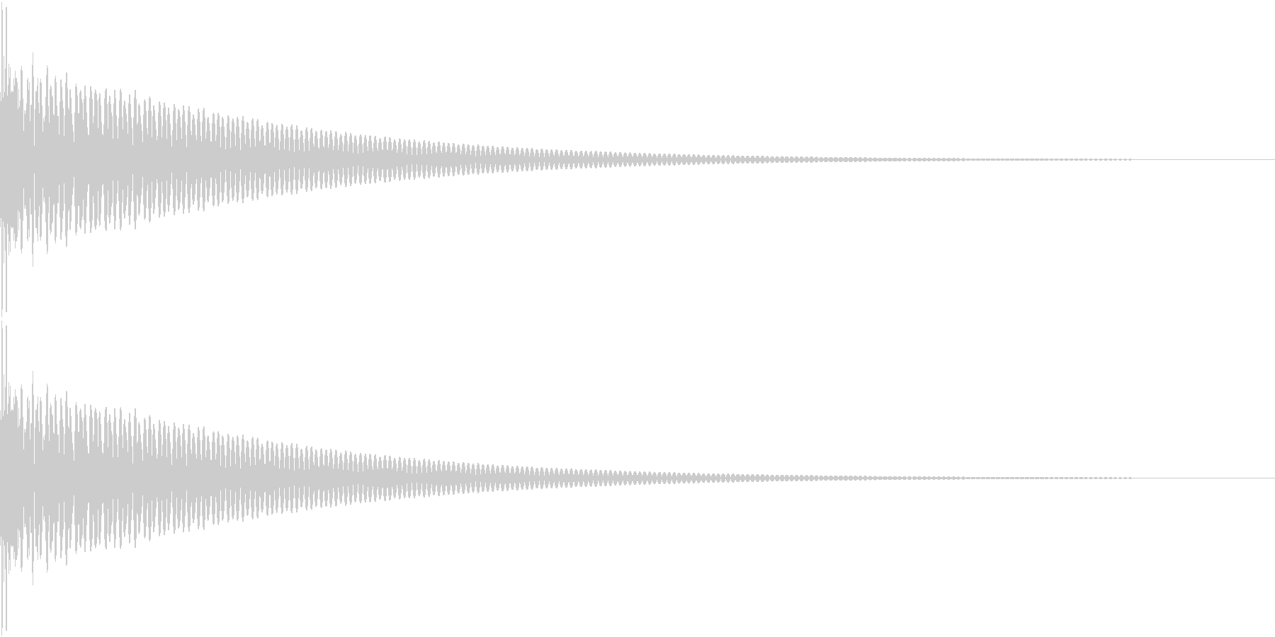 DTM Tom 17 オリジナル音源の未再生の波形
