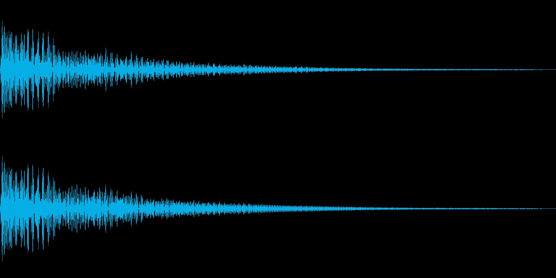 始まりを告げる和太鼓~どどん~の再生済みの波形