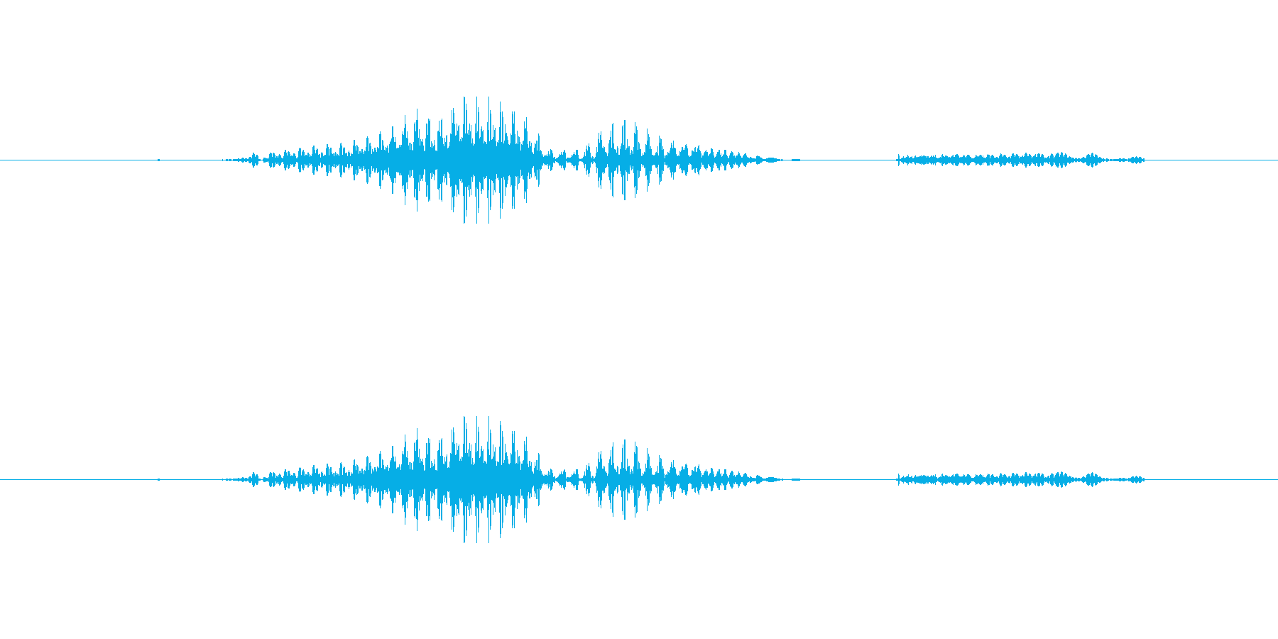 うわばきの再生済みの波形
