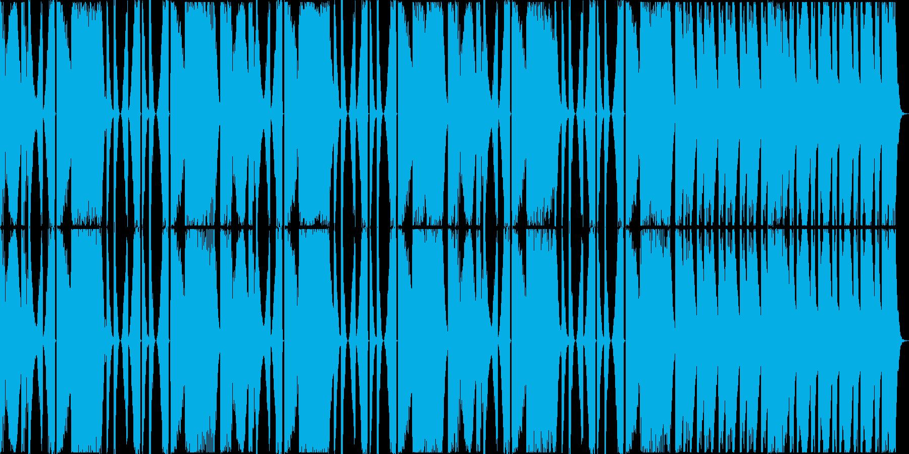 CM等制作用15秒ジャスト音源の再生済みの波形