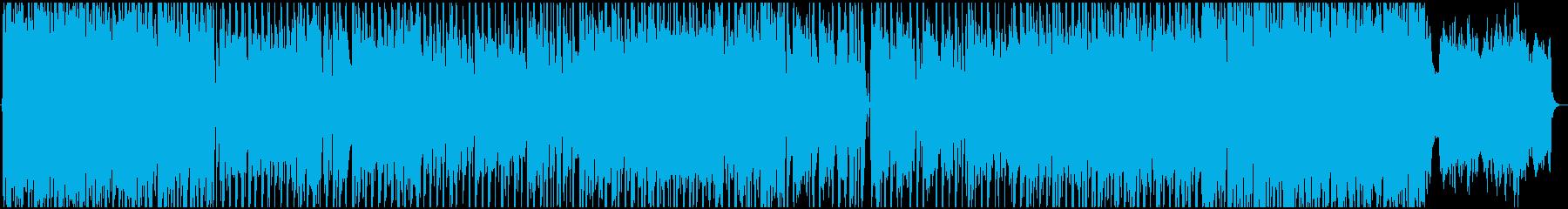 切なさを感じるポップなBGM の再生済みの波形