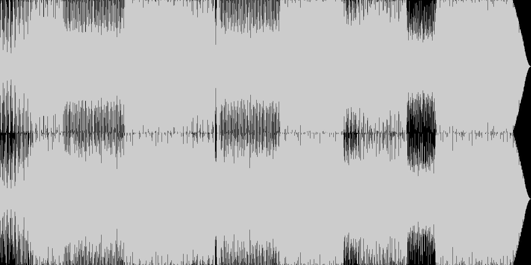 70'~80'年代のディスコ風03の未再生の波形
