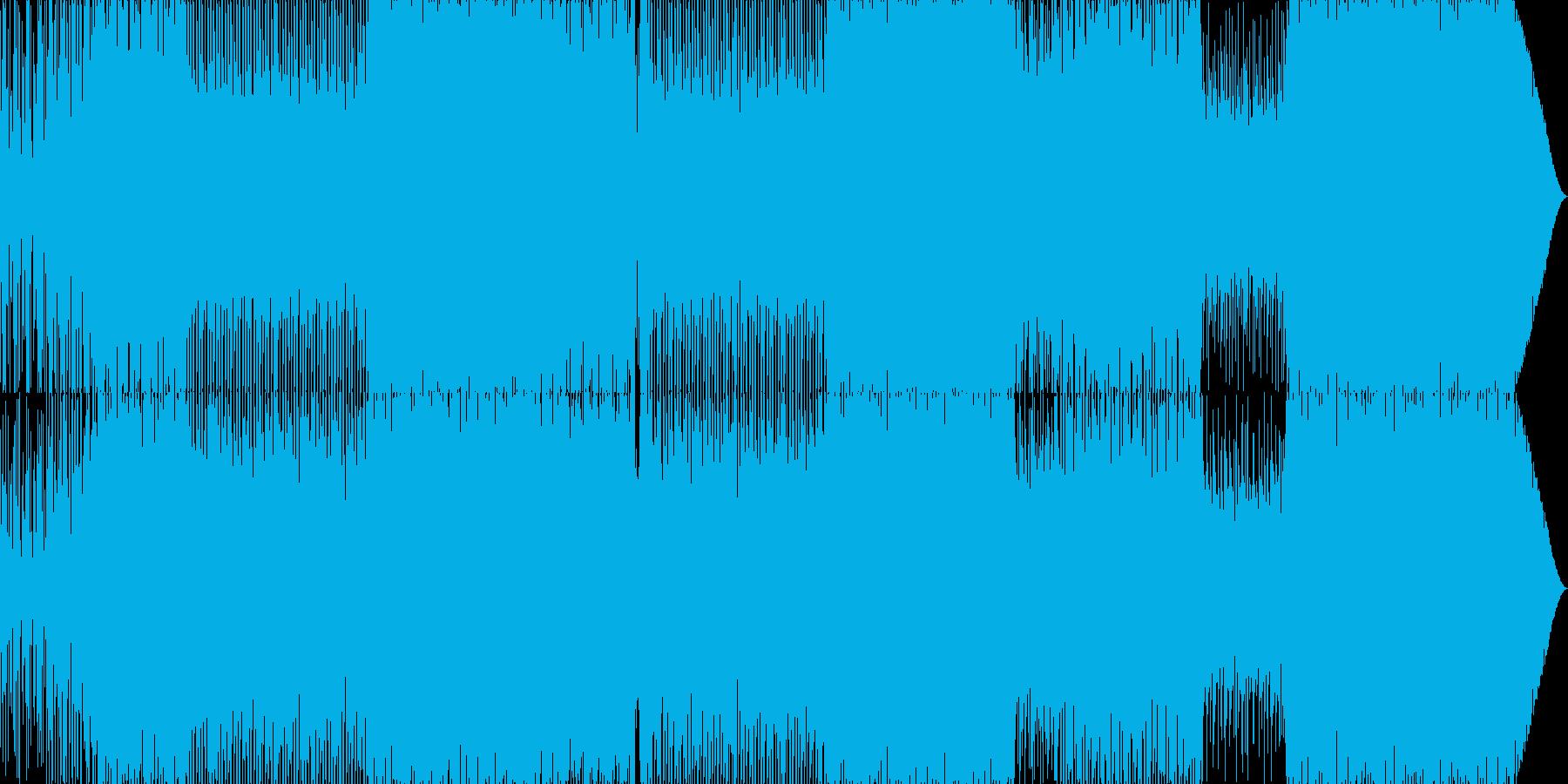 70'~80'年代のディスコ風03の再生済みの波形