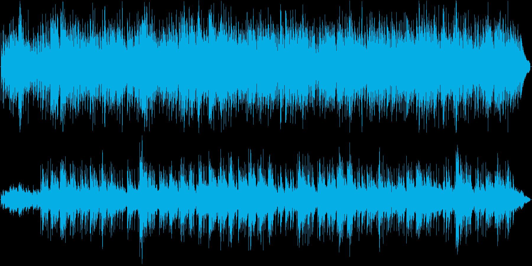 安眠のオルゴールの再生済みの波形