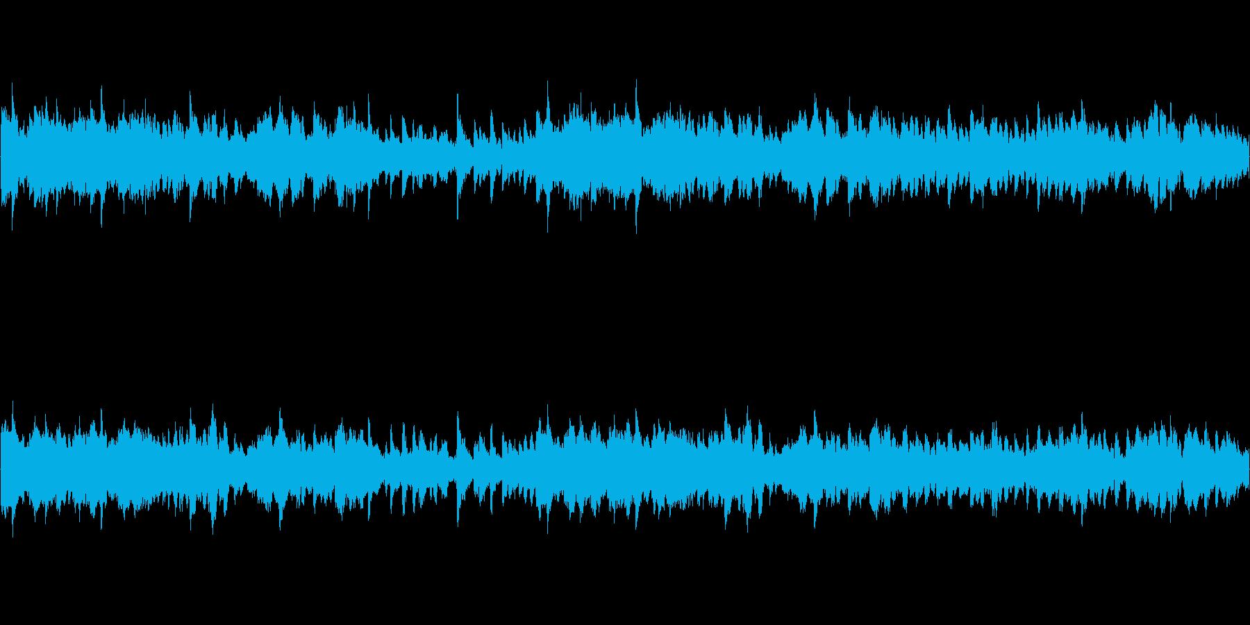 ウエスタンっぽい雰囲気のシンプルな曲の再生済みの波形