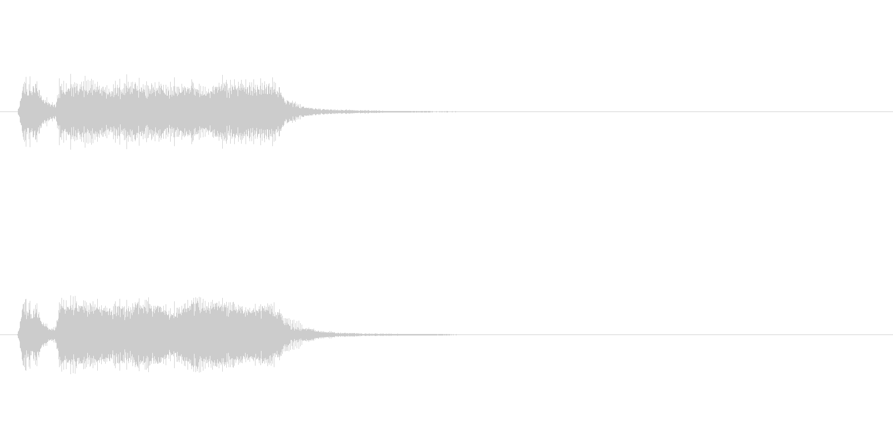 【フレーズ02-1】の未再生の波形