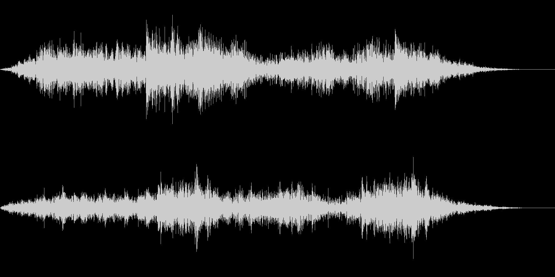 【SE 効果音】奇妙な音7の未再生の波形