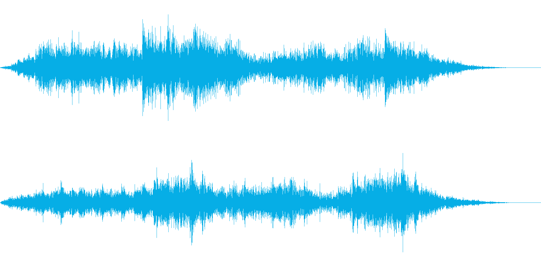 【SE 効果音】奇妙な音7の再生済みの波形