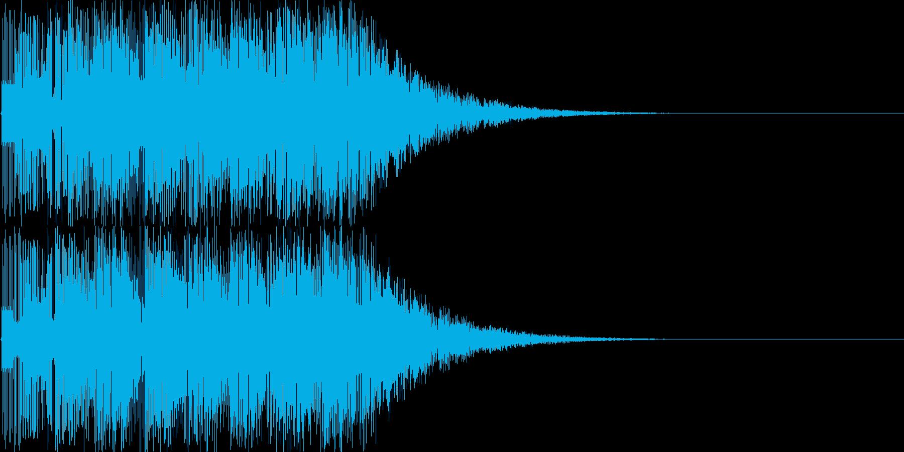 ファミコン系_1UP!の再生済みの波形