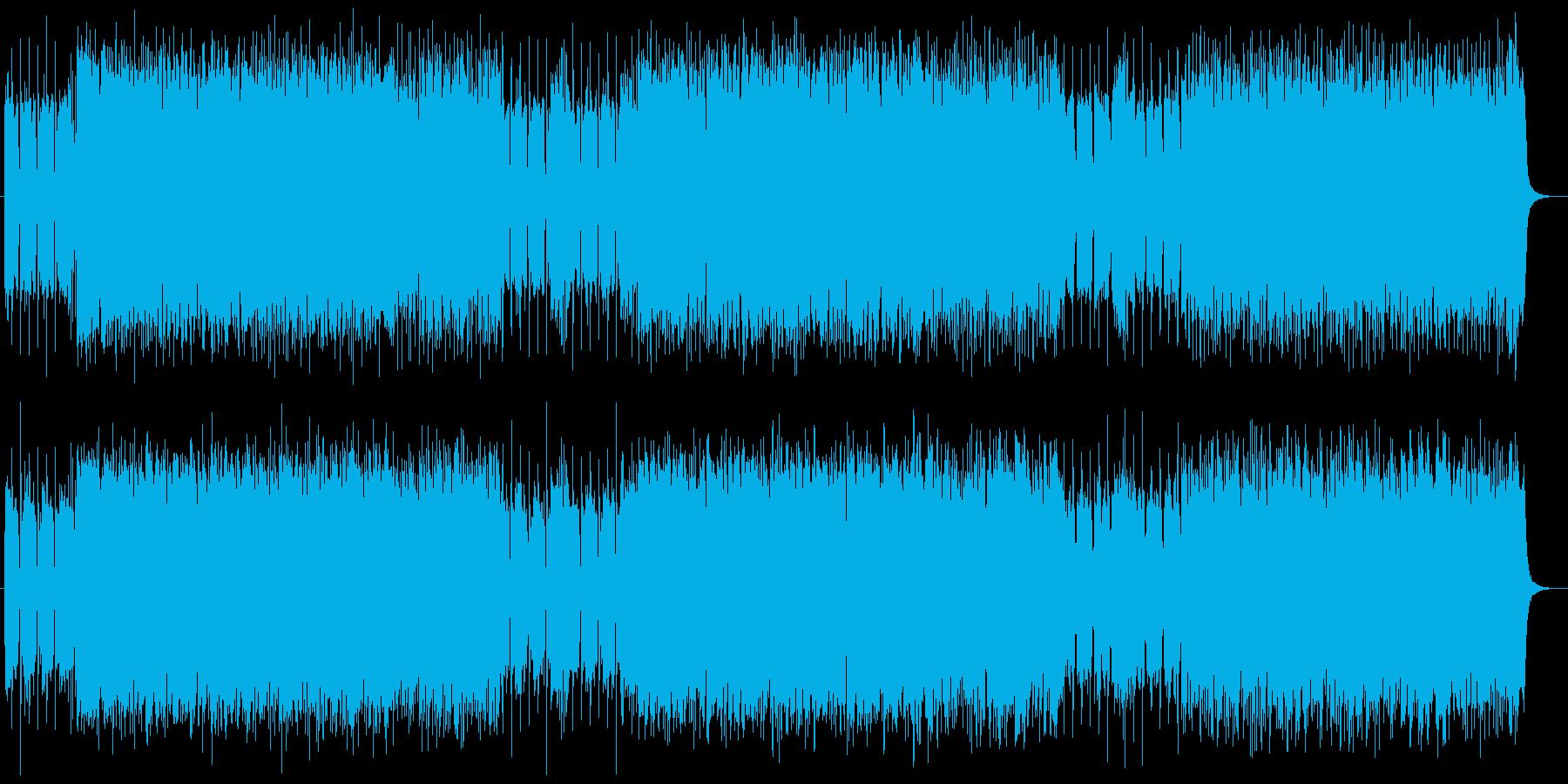 わくわく感と爽快なシンセギターサウンドの再生済みの波形