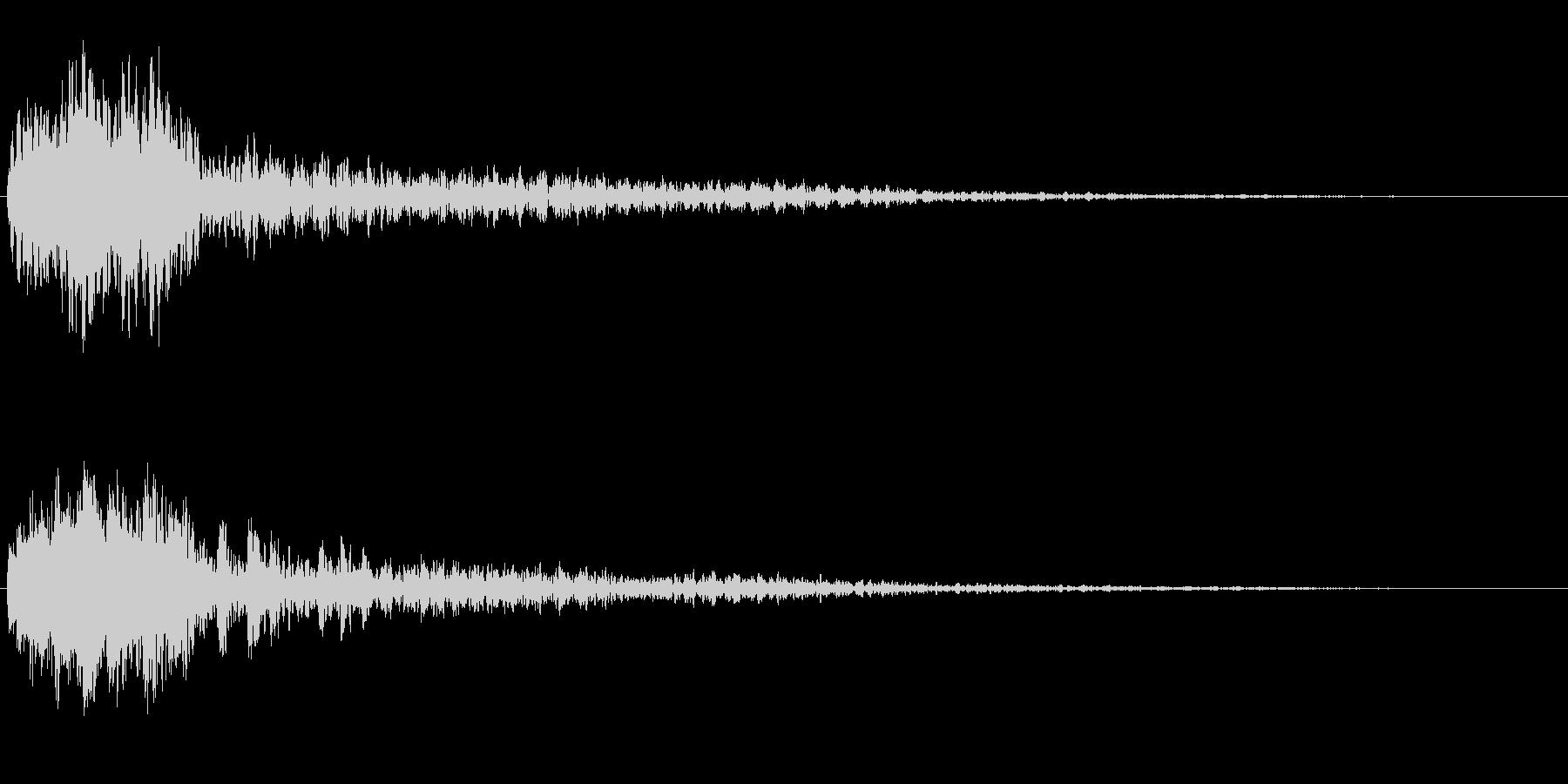 サスペンスに最適!ピアノの弦を弄ぶ音39の未再生の波形