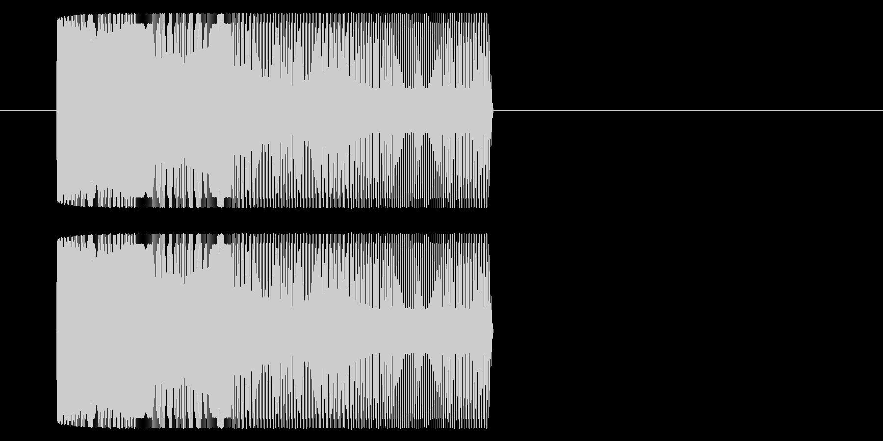 【アーケード 汎用01-09(ピッチ)】の未再生の波形
