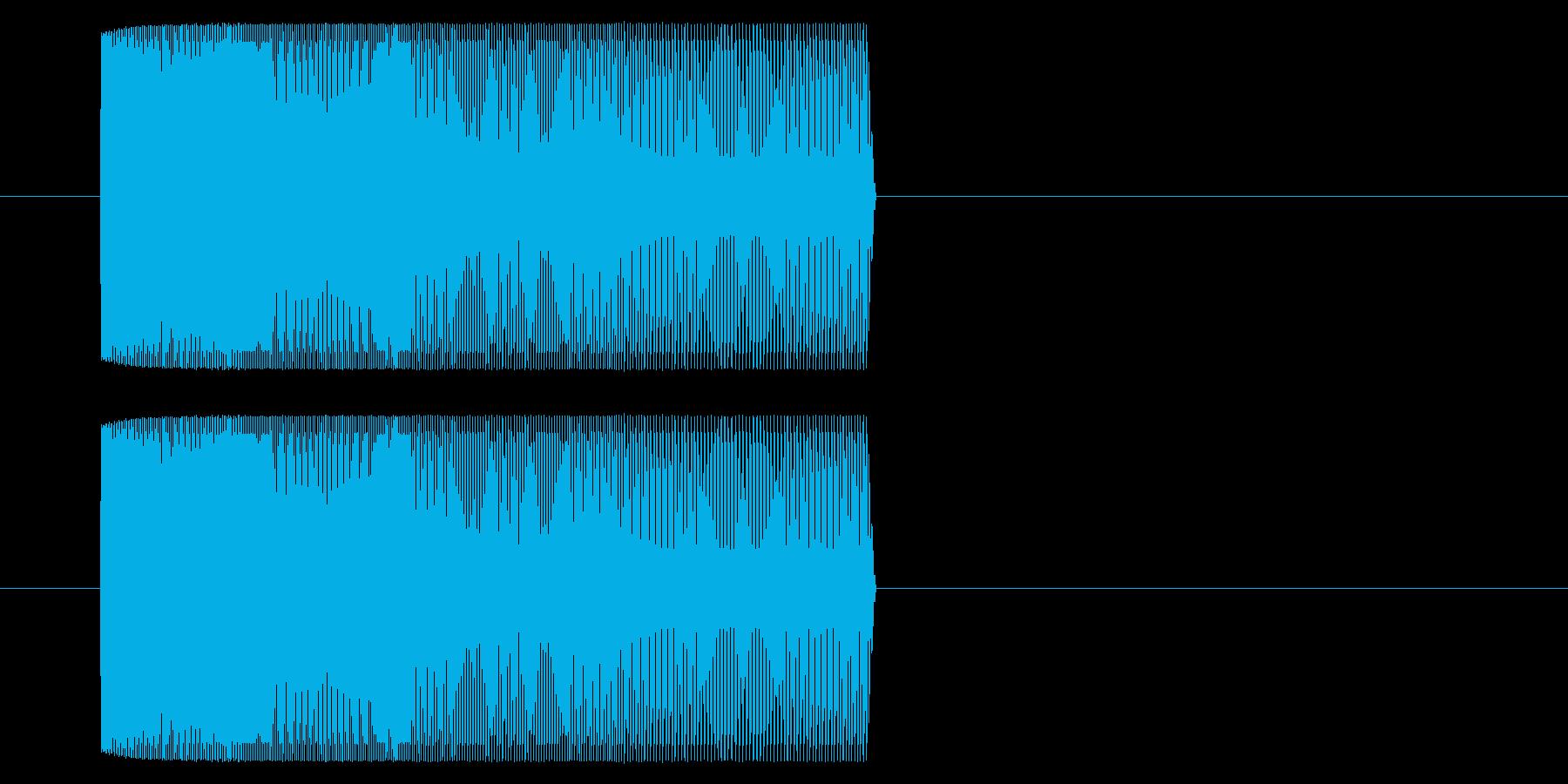 【アーケード 汎用01-09(ピッチ)】の再生済みの波形