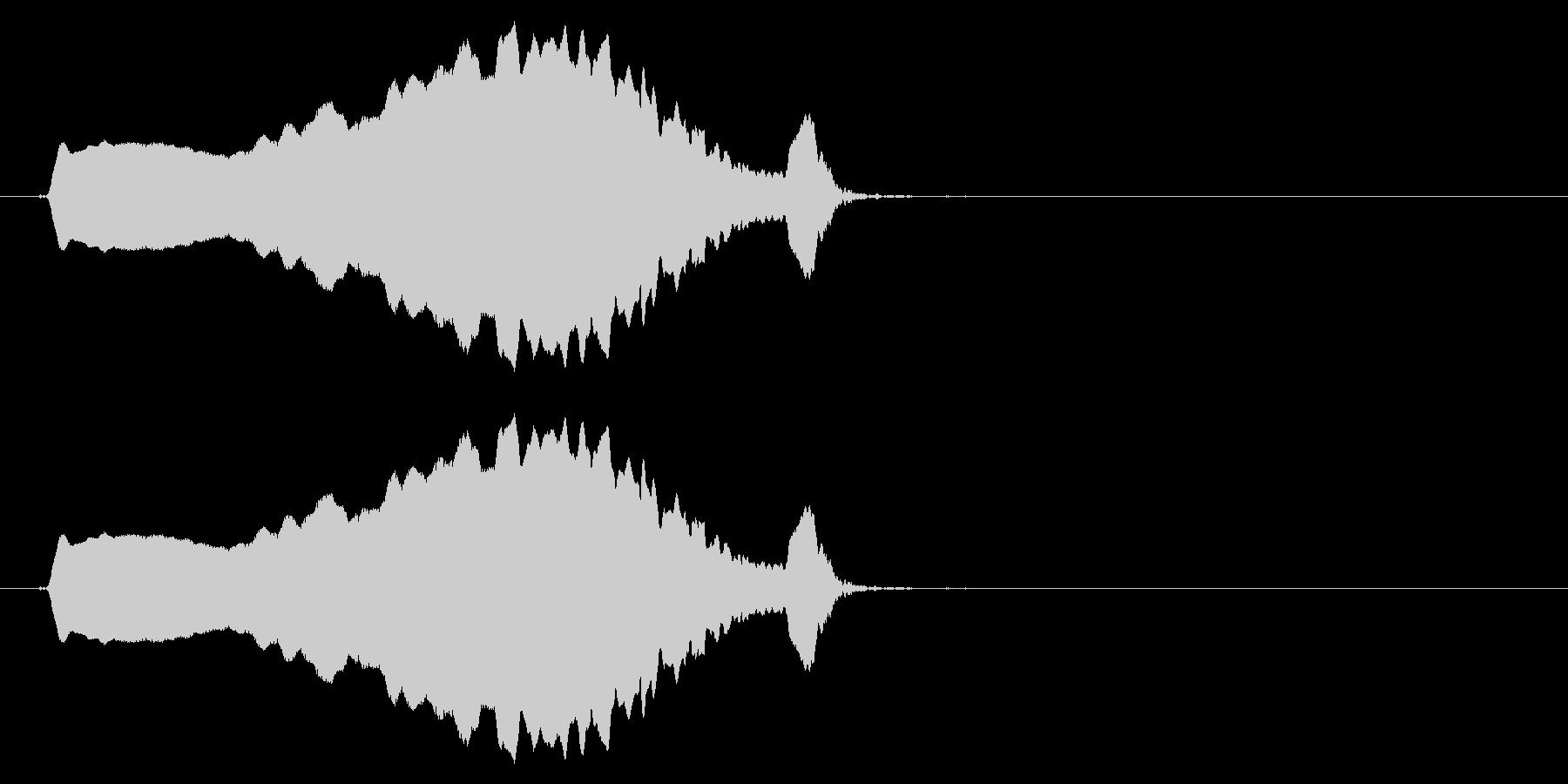 スライド笛/上昇/ピューイ/カートゥーンの未再生の波形