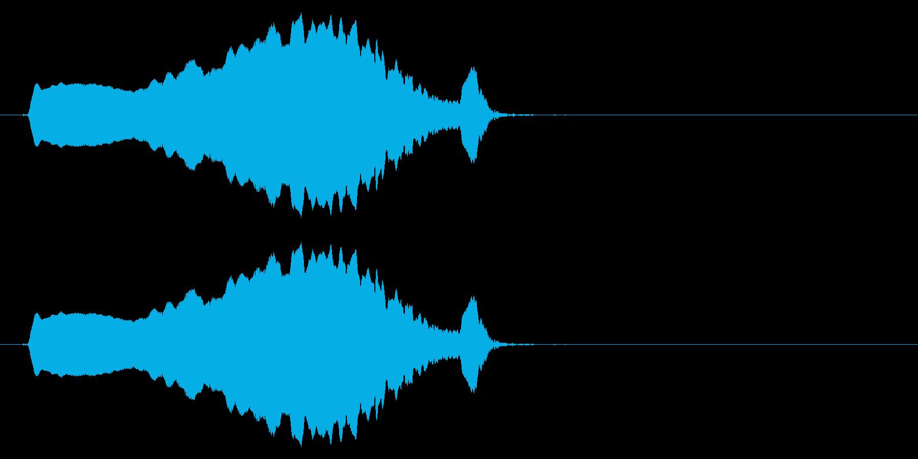 スライド笛/上昇/ピューイ/カートゥーンの再生済みの波形