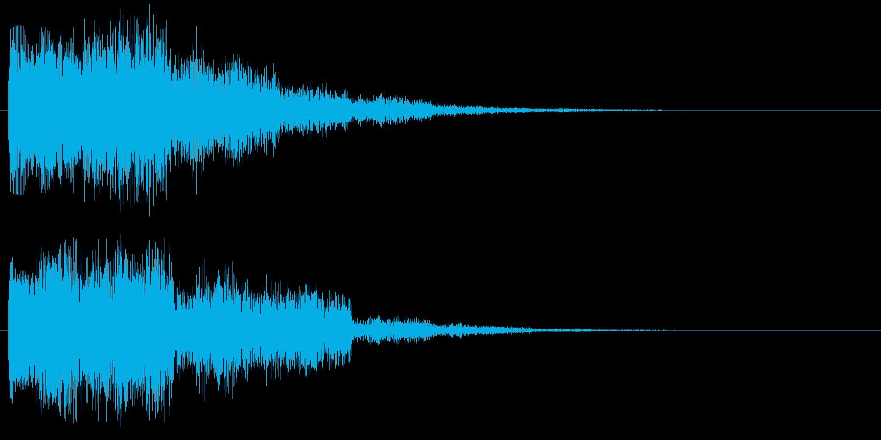 パワーアップ レベルアップ アイテム使用の再生済みの波形