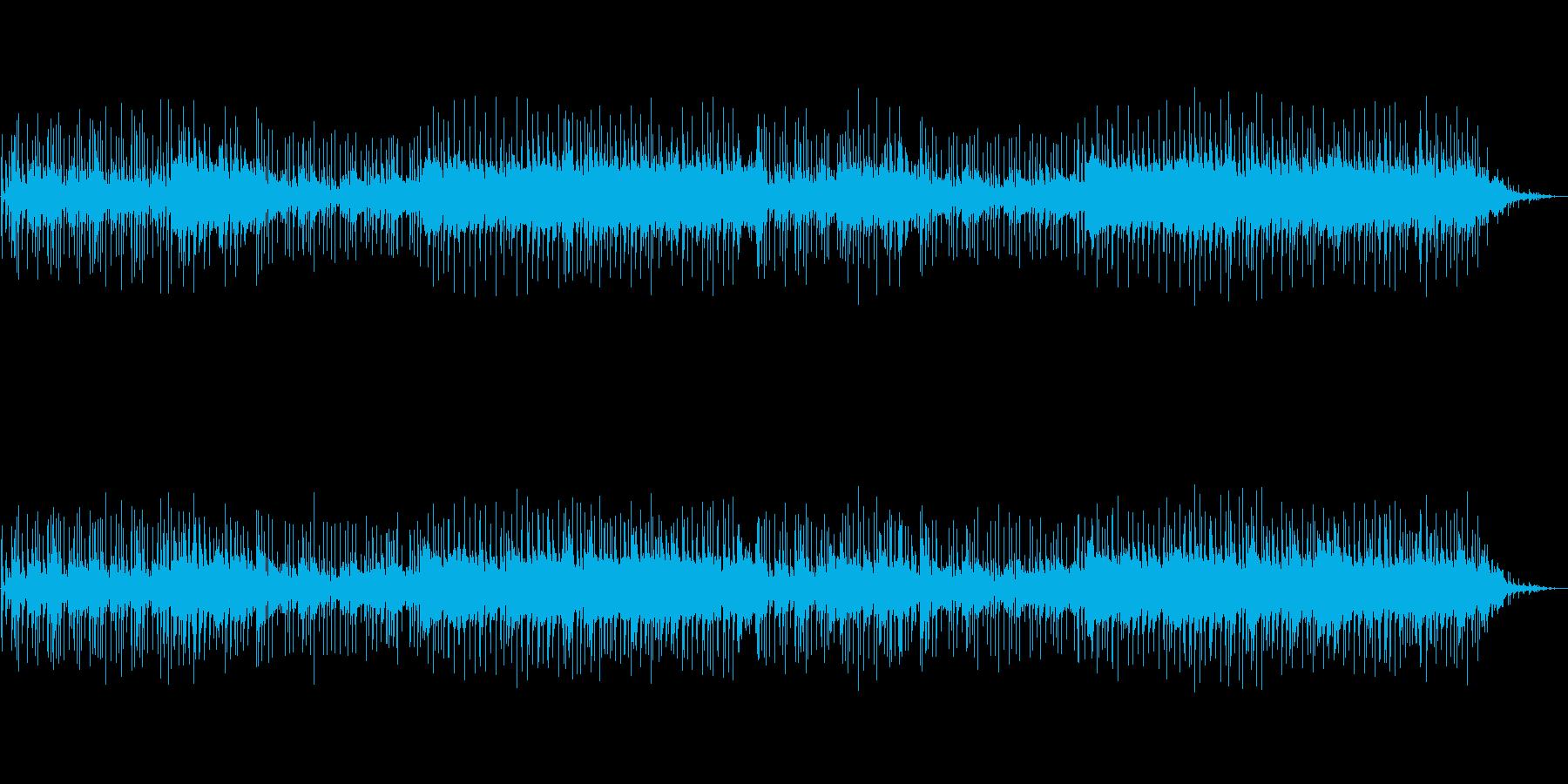しっとりとしたフュージョン(ギター)の再生済みの波形