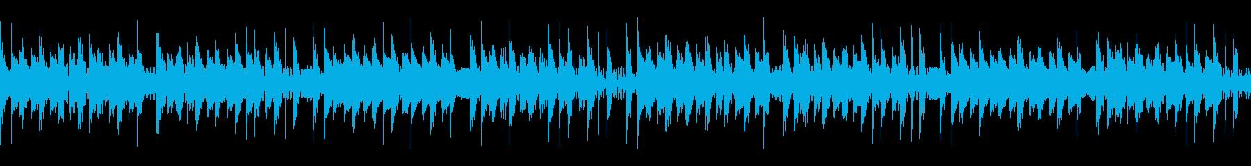 能天気なループ仕様 BGMの再生済みの波形