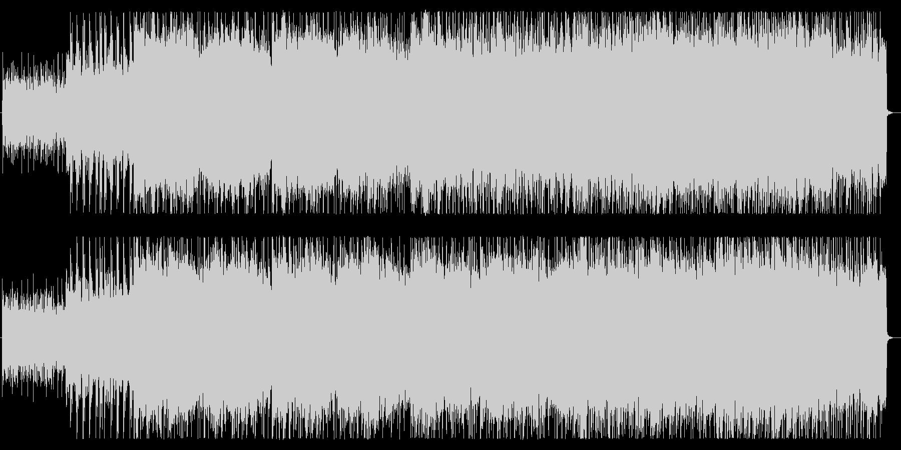 和太鼓と笛の戦国時代風バトルBGMの未再生の波形