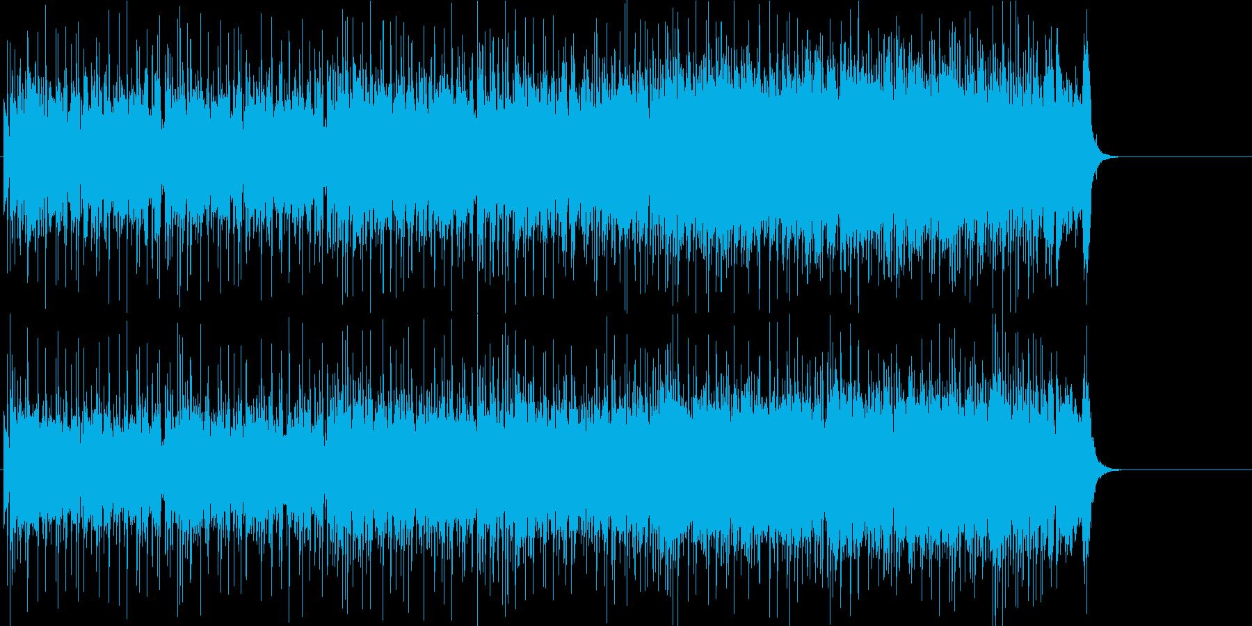 報道 オープニング 軽快 テーマ 情報の再生済みの波形