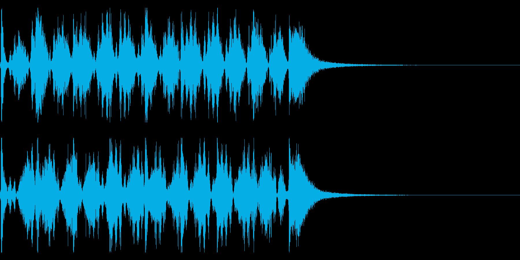 シンキングタイム用/秒針の効果音 !4の再生済みの波形