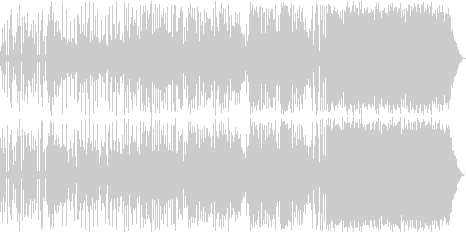 EDM  Track 16の未再生の波形