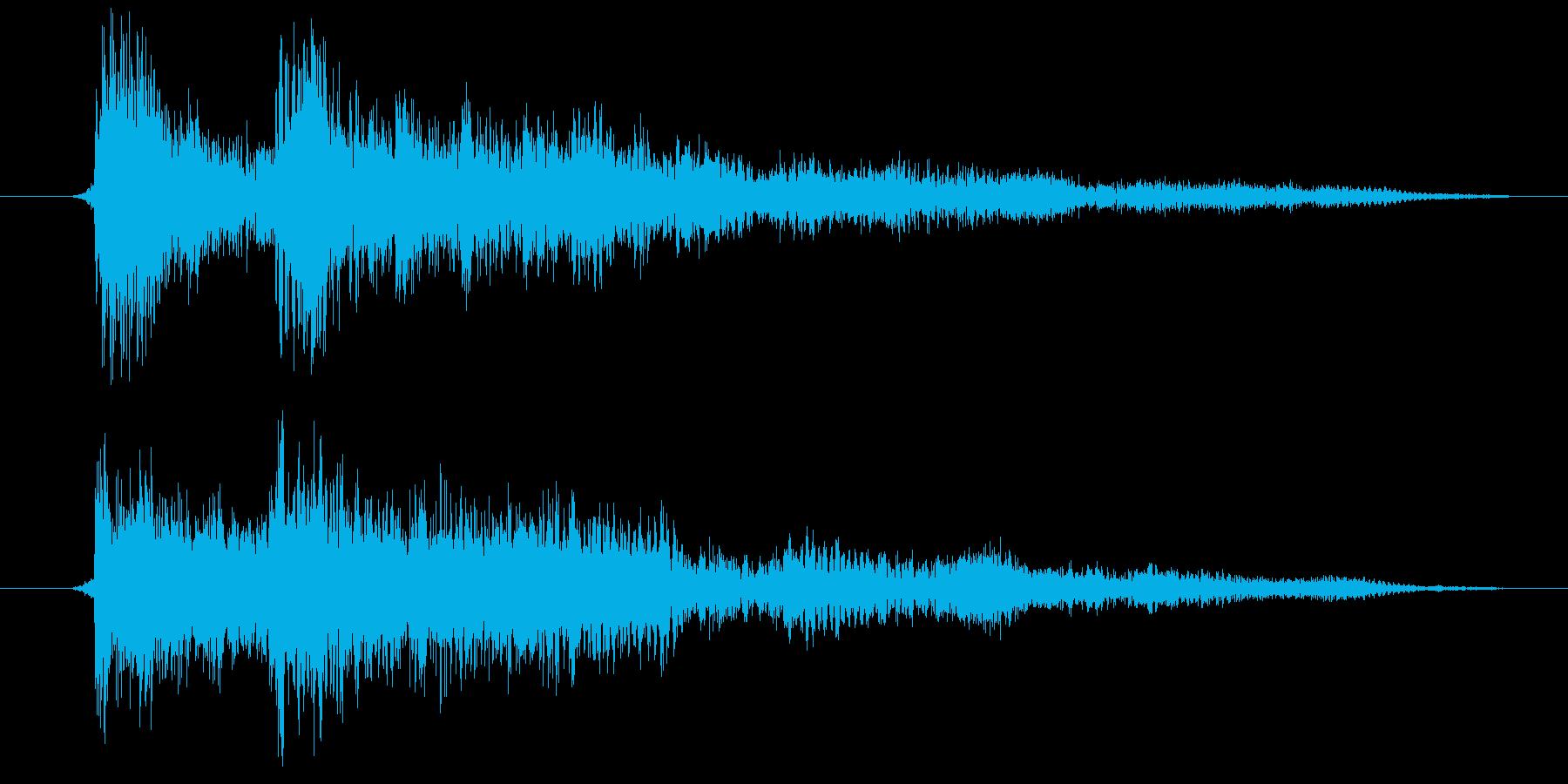 ゲーム・アプリSE メニュー開くの再生済みの波形