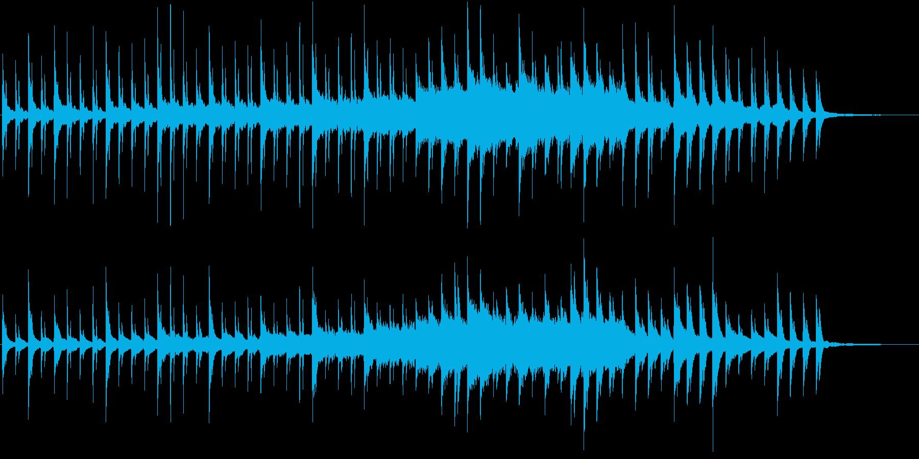 切ないピアノから始まるオケバラードの再生済みの波形