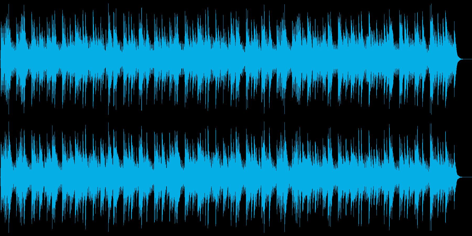 こいのぼりの再生済みの波形