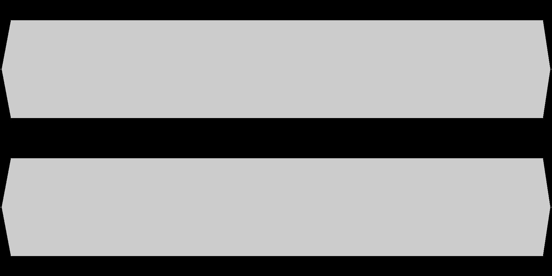 モスキート音 20kHzの未再生の波形