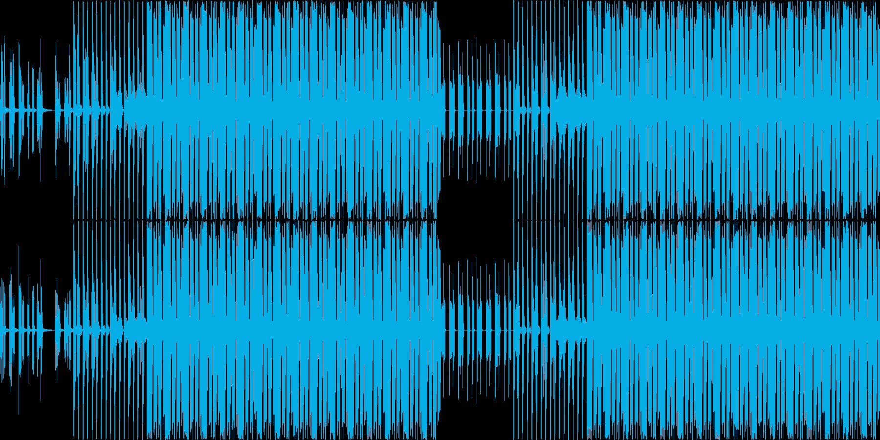 【わくわく/ウキウキなポップス】の再生済みの波形