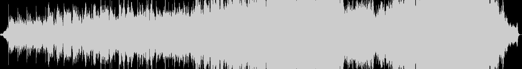 物悲しい雰囲気のバラード4の未再生の波形