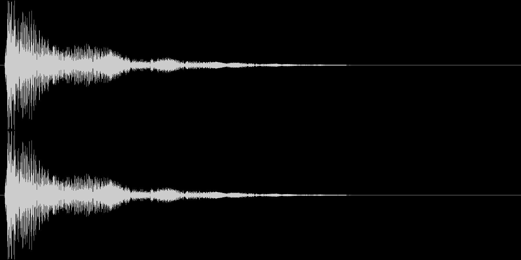 モワモワモワ…↑(水蒸気、雲、浮かぶ)の未再生の波形