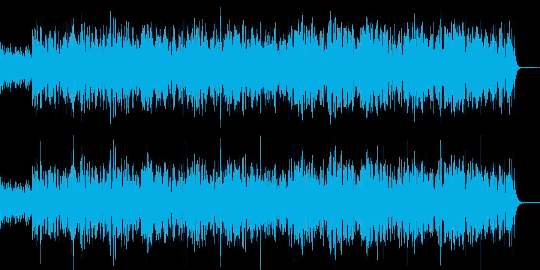 シリアスでコミカルなJazzBluesの再生済みの波形