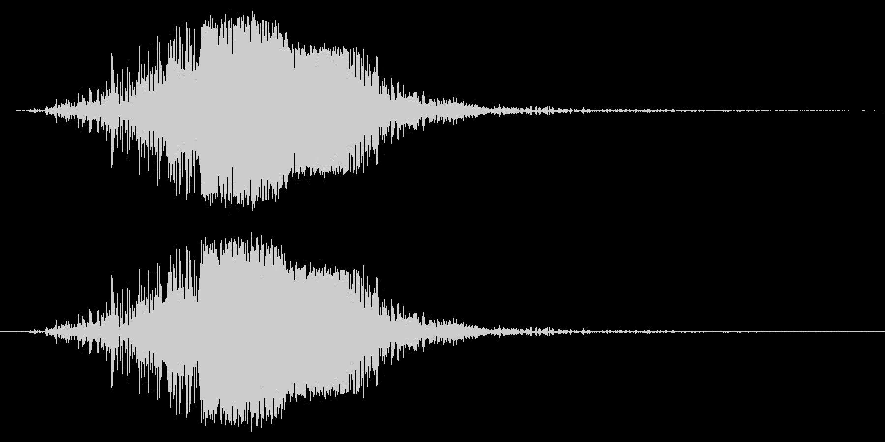 キュピーンの未再生の波形