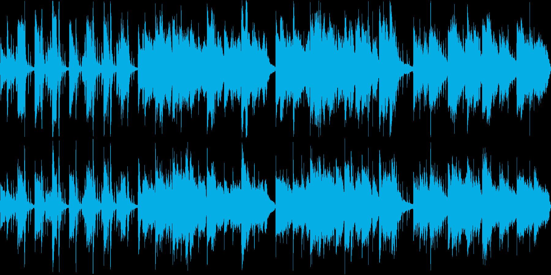アコースティックなポップス。ループ可の再生済みの波形
