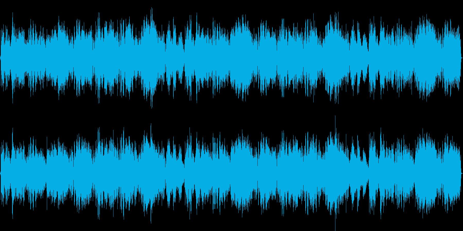 RPGにベストなBGMループの再生済みの波形