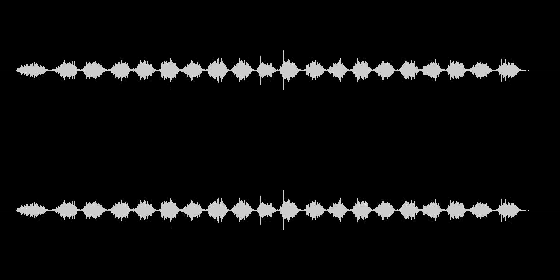 【消しゴム01-3(こする)】の未再生の波形
