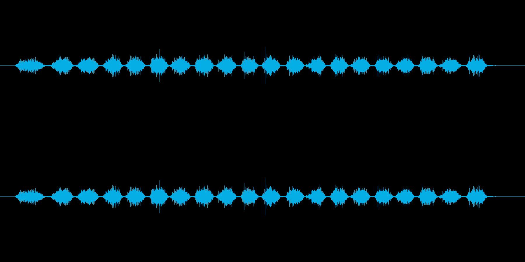 【消しゴム01-3(こする)】の再生済みの波形