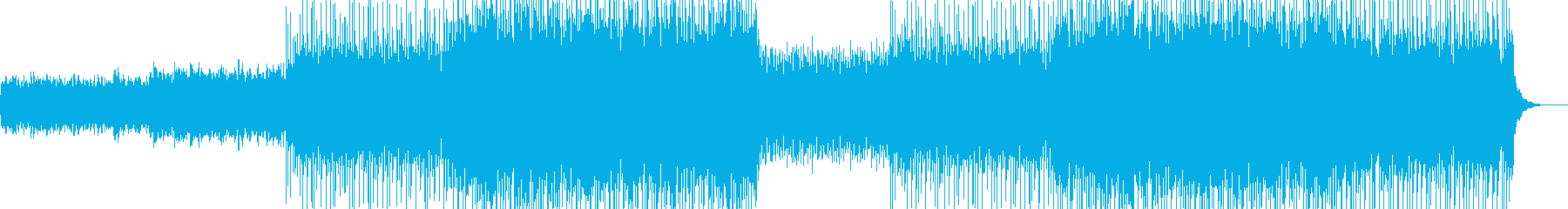 オープニング企業VPイベントブラス-30の再生済みの波形