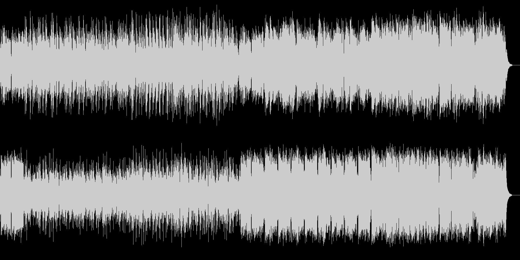 しっとりとして懐かしいピアノ中心の楽曲の未再生の波形