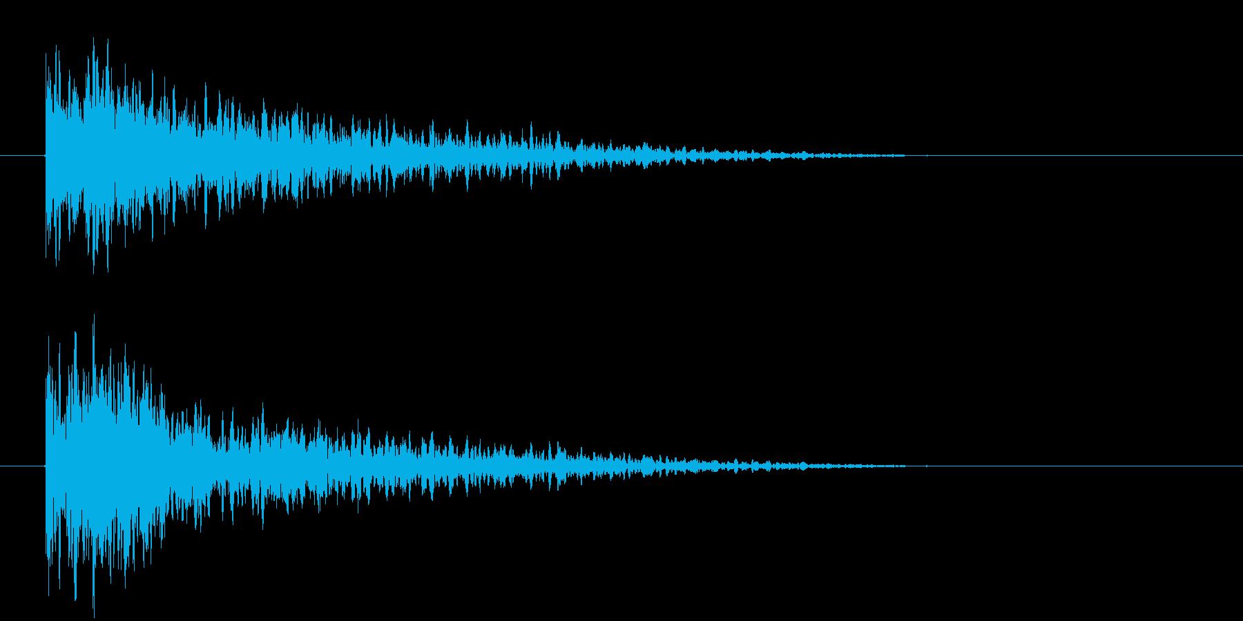 きゅるりんの再生済みの波形