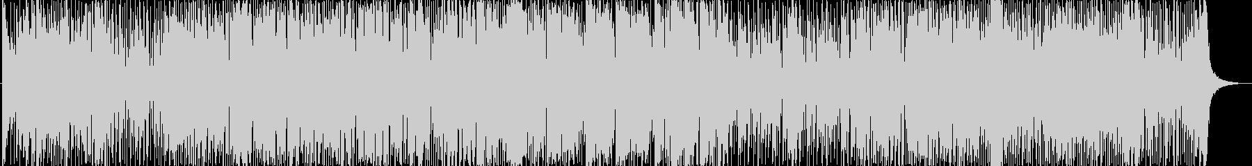 70年代、王道ファンクブギー 生音系の未再生の波形
