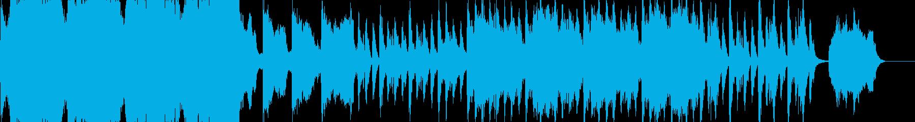 ダークファンタジー 荘厳なオーケストラの再生済みの波形