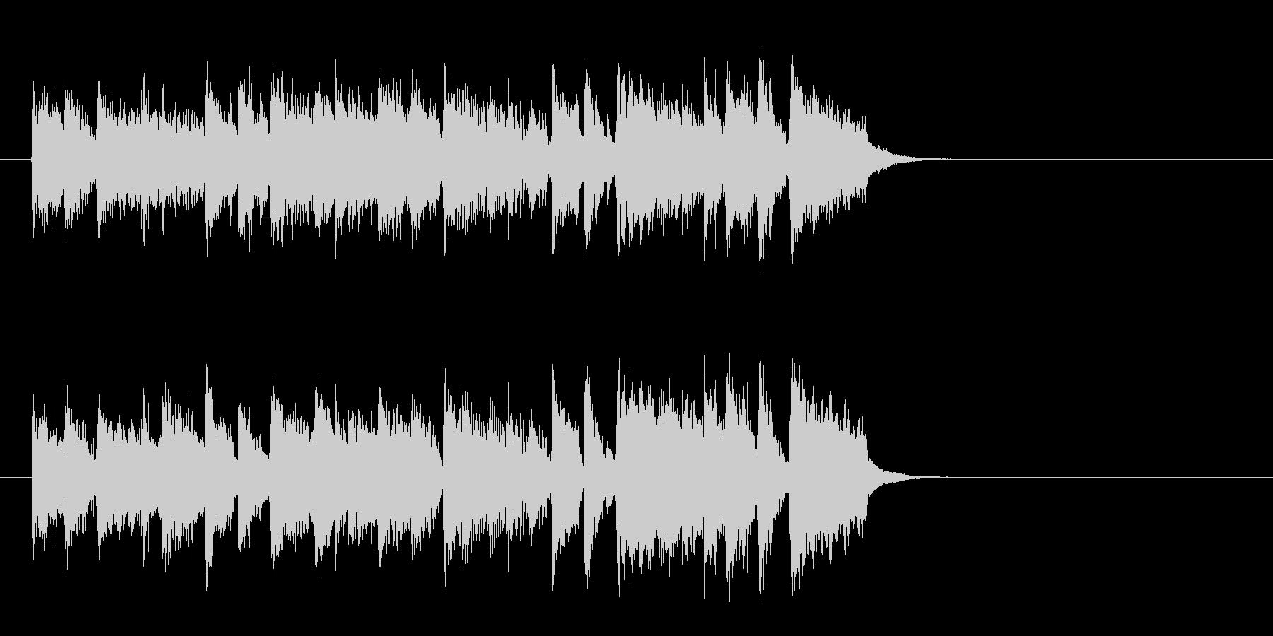 リゾート風ポップバラード(イントロ)の未再生の波形